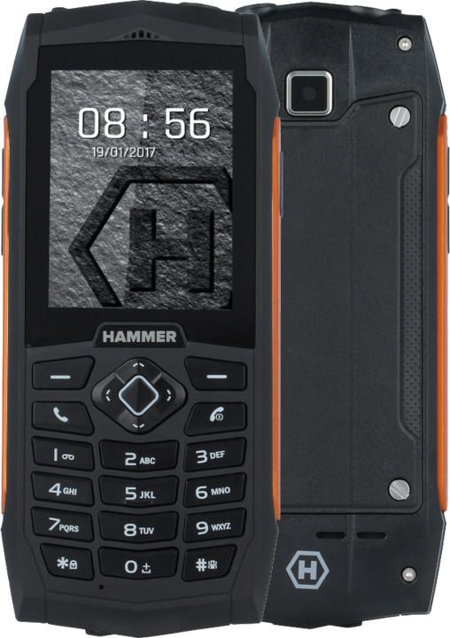 myPhone HAMMER 3, oranžová