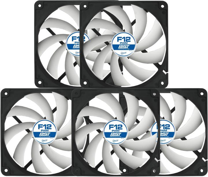 Arctic Fan F12 PWM PST Value Pack
