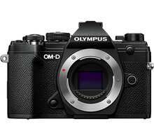 Olympus E-M5 Mark III tělo, černá - V207090BE000