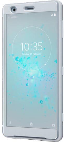 Sony SCTH40 Style Cover Touch pouzdro Xperia XZ2, šedá