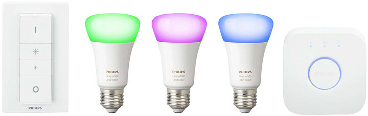 Philips Hue White and Color Ambiance Starter Kit E27