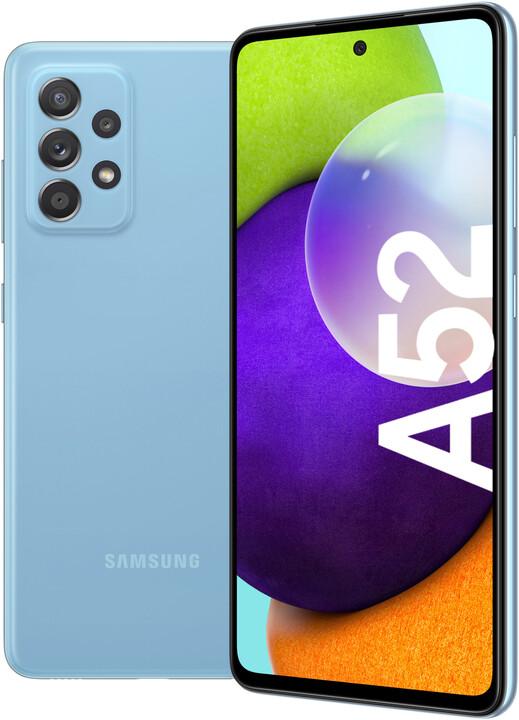 Samsung Galaxy A52, 8GB/256GB, Awesome Blue