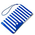 """CELLY Splash Wallet univerzální voděodolné pouzdro s peněženkou pro telefony 5,7 """", modré"""