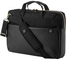 HP brašna Pavilion Accent Briefcase 15, černo/zlatá - 4QF94AA#ABB