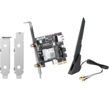 QNAP QXP-W6-AX200 - WiFi 6, AX200 Elektronické předplatné časopisu Reflex a novin E15 na půl roku v hodnotě 1518 Kč