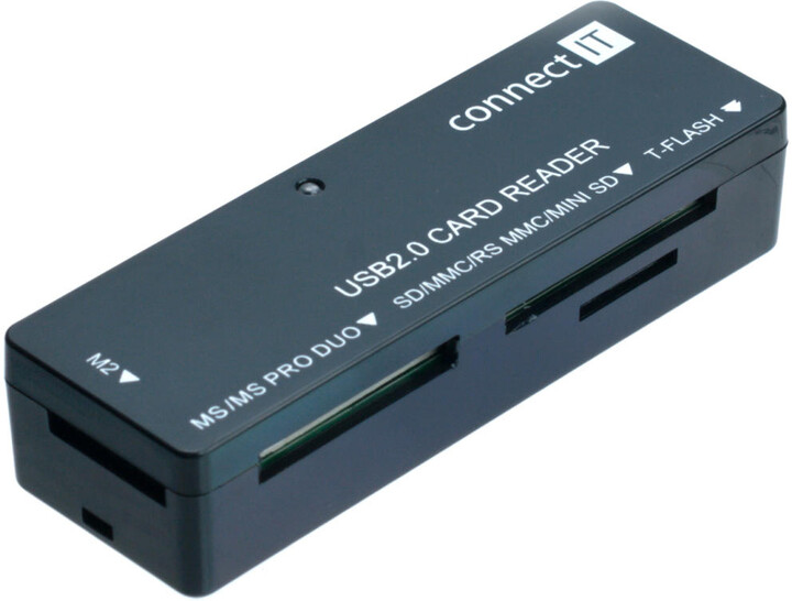 CONNECT IT CI-56 USB Čtečka karet UltraSlim