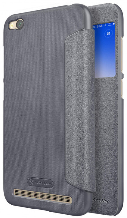 Nillkin Sparkle S-View pouzdro pro Xiaomi Redmi 5A, Black