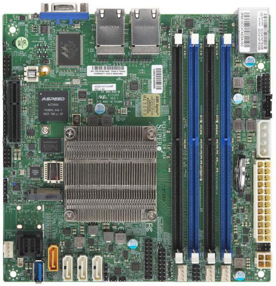 SuperMicro 2SDi-4C-HLN4F - Intel Atom C3758