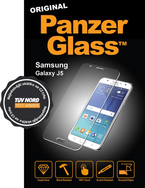 PanzerGlass Edge-to-Edge pro Samsung Galaxy J5 2017, černé