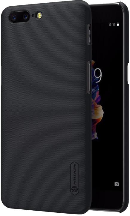 Nillkin Super Frosted Zadní Kryt pro OnePlus 5T, černá
