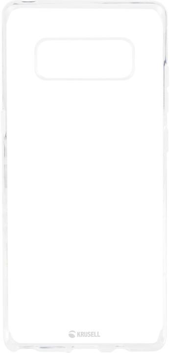 Krusell zadní kryt BOVIK pro Samsung Galaxy Note 8, transparentní