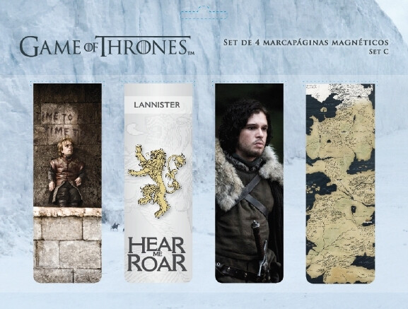 Game of Thrones - magnetické záložky