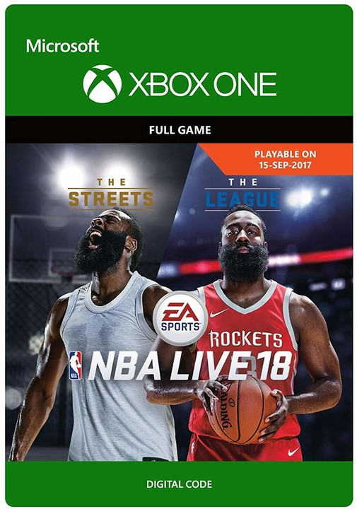 NBA Live 18 (Xbox ONE) - elektronicky