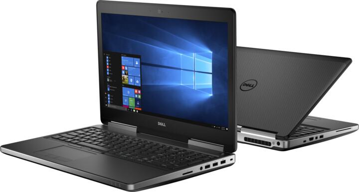Dell Precision 15 (7520), černá