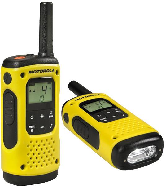 Motorola TLKR T92 H2O, žlutá