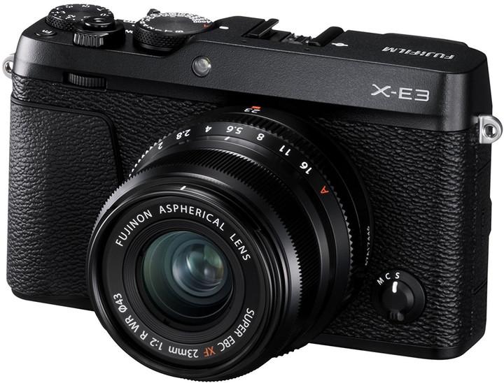 Fujifilm X-E3 + XF23mm, černá