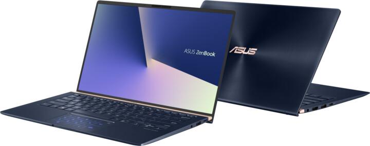 ASUS ZenBook 14 UX433FN, modrá
