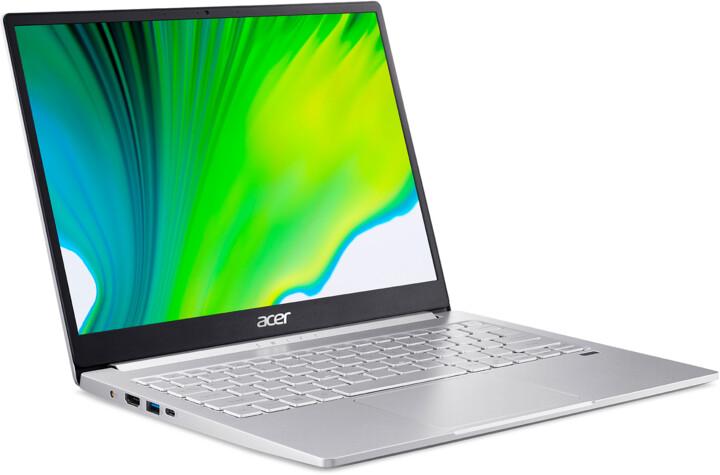 Acer Swift 3 (SF313-53-7102), stříbrná