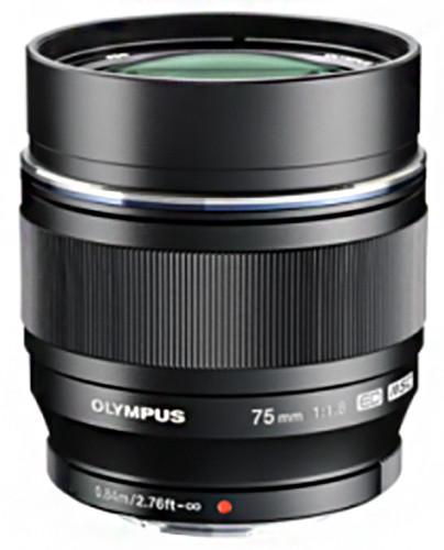 Olympus M. ZUIKO DIGITAL ED 75mm F1.8, černá