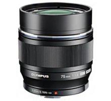 Olympus M. ZUIKO DIGITAL ED 75mm F1.8, černá - V311040BW000