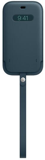 Apple kožený návlek s MagSafe pro iPhone 12/12 Pro, modrá