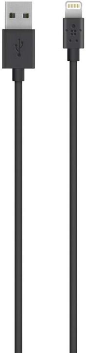 Belkin Lightning 2m, černá