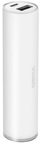 Nokia DC-19 univerzální přenosný záložní zdroj, bílá