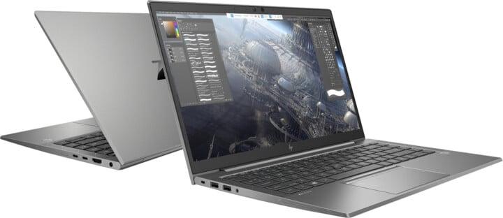 HP ZBook Firefly 14 G7, šedá