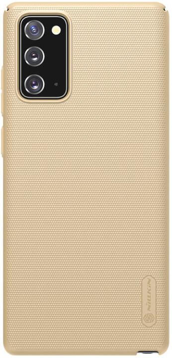 Nillkin zadní kryt Super Frosted pro Samsung Galaxy Note20, zlatá