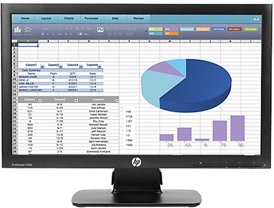 HP P202 - LED monitor 20""