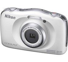 Nikon Coolpix W150, bílá + Backpack kit - VQA110K001