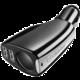 CellularLine autonabíječka s CL výstupem a 2 USB porty, černá