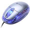 CONNECT IT optická myš podsvícená USB, stříbrná
