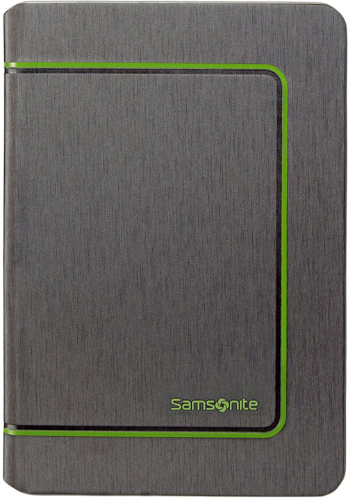 Samsonite Tabzone - COLOR FRAME-iPAD MINI 3&2, šedo/zelená