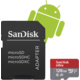 SanDisk Micro SDXC Ultra Android 128GB 100MB/s A1 UHS-I + SD adaptér  + 300 Kč na Mall.cz