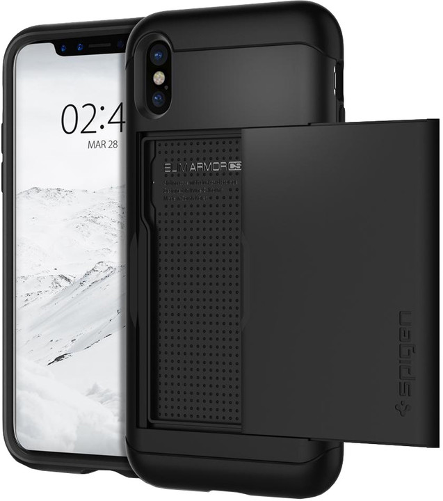 Spigen Slim Armor CS iPhone X, black