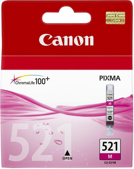 Canon CLI-521 M, purpurová