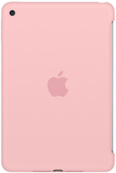 Apple iPad mini 4 Silicone Case, růžová