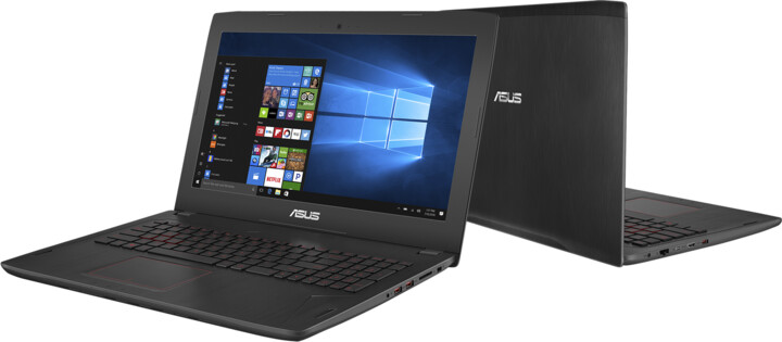 ASUS FX502VD-FY060T, černá
