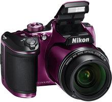 Nikon Coolpix B500, fialová - VNA952E1