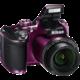 Nikon Coolpix B500, fialová  + Batoh Alpine Pro ADJOA, tyrkysová v ceně 999 Kč