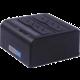 """PremiumCord USB 3.0 dokovací stanice pro dva 2.5""""/3.5"""" SATA HDD  + Voucher až na 3 měsíce HBO GO jako dárek (max 1 ks na objednávku)"""