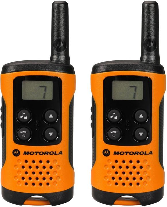 Motorola TLKR T41, oranžová, vysílačky