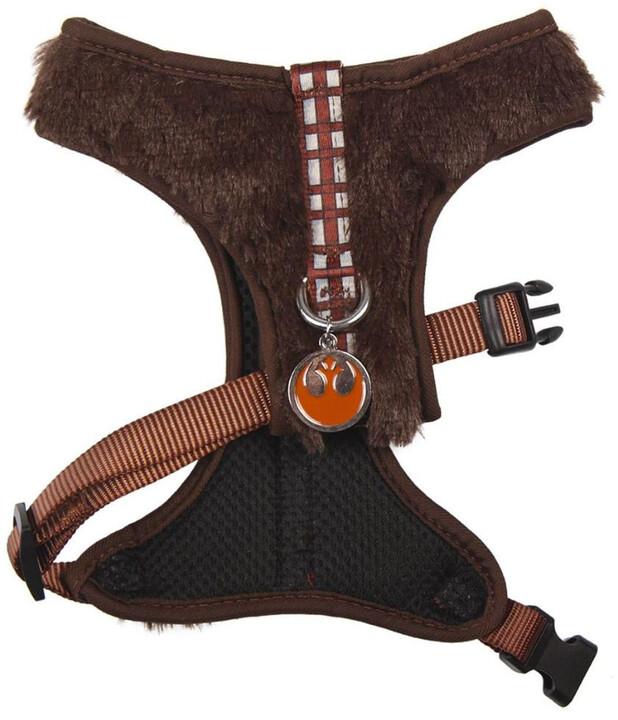 Široký postroj Chewbacca XS