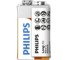 Philips 9V LongLife zinkochloridová - 6F22L1F/10