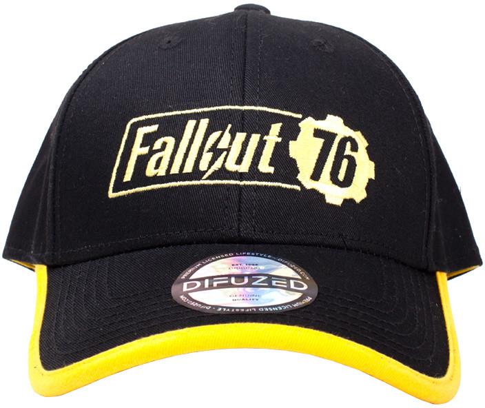 Kšiltovka Fallout 76 - Yellow Logo