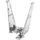 Stavebnice Metal Earth Star Wars: Episode VII - Kylo Ren's Command Shuttle, kovová