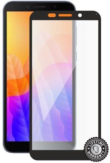 Screenshield ochrana displeje Tempered Glass pro Huawei Y5p (2020), full cover, černá