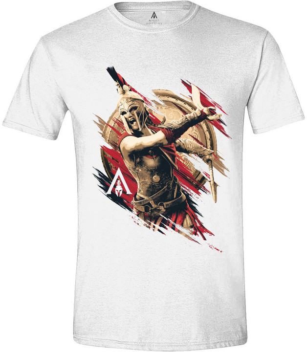 Tričko Assassins Creed: Odyssey - Kassandra Charge (XL)