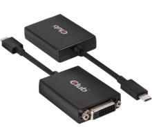 Club3D USB 3.1 TYPE C na DVI-D, aktivní převodník - CAC-1508